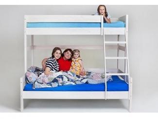 Двухъярусная кровать для родителей и ребенка  - Мебельная фабрика «МебельМульт»