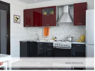 Кухня Пластик №2 - Мебельная фабрика «Симкор»