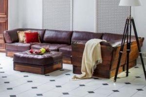 Большой уютный диван в Лофт интерьере - Импортёр мебели «Arredo Carisma (Австралия)»