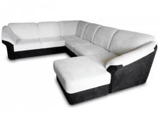 Угловой диван Валенсия с оттоманкой