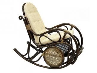 Кресло-качалка из ротанга  с подушкой, арт. 05/10 Б - Импортёр мебели «ЭкоДизайн (Китай, Индонезия)»