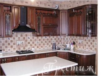 Кухня из массива дерева PALERMO  - Мебельная фабрика «Престиж»