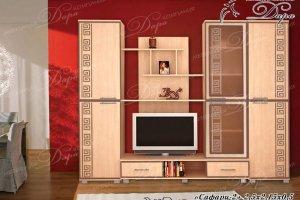 Стенка Cафари-2 - Мебельная фабрика «Дара»