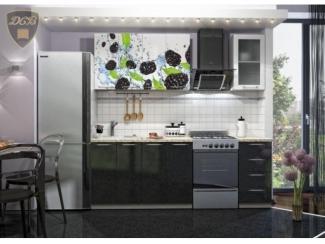 Кухня с фотопечатью Черника - Мебельная фабрика «ДСВ-Мебель»