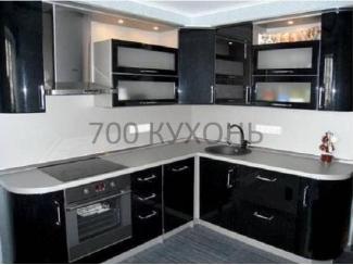 Черный кухонный гарнитур - Мебельная фабрика «700 Кухонь»