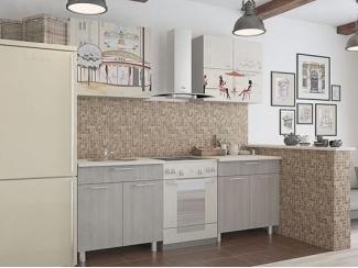 Кухня прямая Легенда 5 - Мебельная фабрика «Ваша мебель»