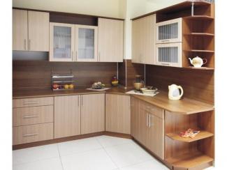 Кухня угловая Люкс лен