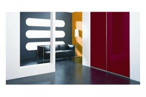 Глянцевый шкаф-купе в коридор - Мебельная фабрика «Командор»