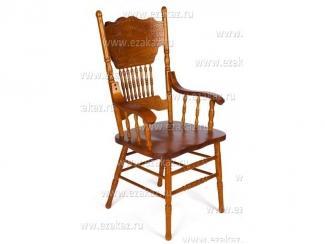 Стул с подлокотниками деревянный 217 А - Мебельный магазин «Тэтчер»