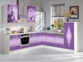 Фиолетовая кухня Муза  - Мебельная фабрика «Мебель России»