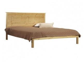 Кровать строгой формы Тора (T1) - Мебельная фабрика «Timberica»