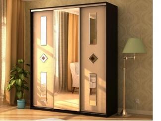 Шкаф-купе с зеркальными вставками 8 - Мебельная фабрика «Мэри-Мебель»