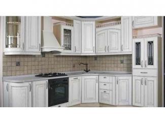 Белая кухня в стиле модерн Эмаль  - Мебельная фабрика «Вектра-мебель»