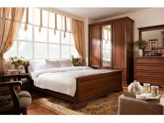 Классическая модульная спальня Кентаки - Импортёр мебели «БРВ-Мебель (Black Red White)»