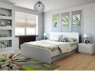 Кровать Элиза 1600 4Ш - Мебельная фабрика «Лагуна»