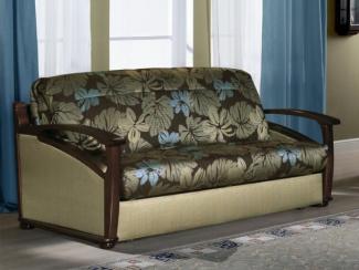 диван прямой Глория аккордеон массив - Мебельная фабрика «Элегия»