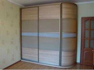 Закругленный шкаф купе - Мебельная фабрика «ТРИ-е»