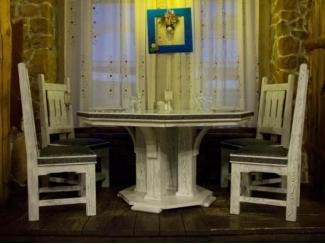 Комплект стол и стулья - Мебельная фабрика «ОСТА»