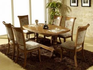 Стол обеденный овальный 2415T - Импортёр мебели «МебельТорг»