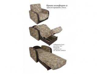 Кресло-кровать Браво Комфорт 2 - Изготовление мебели на заказ «Мак-мебель», г. Санкт-Петербург