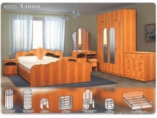 Спальный гарнитур Алина - Мебельная фабрика «Поволжье», г. Пенза