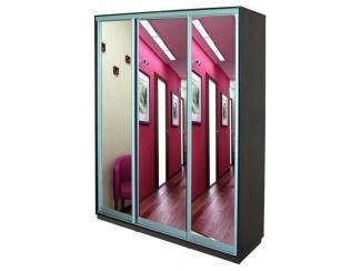 Шкаф-купе 3 створки с зеркалами Элегант 2 - Мебельная фабрика «Маэстро»