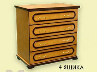 Комод «К-1» 4 ящика - Мебельная фабрика «Мебель Прогресс»