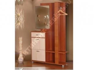 Прихожая Полина 1 Итальянский орех  - Мебельная фабрика «Континент-мебель»