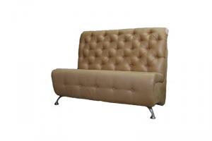 Диван прямой с каретной стяжкой    - Мебельная фабрика «Салават стиль»