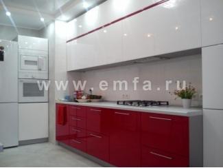 Кухня Виктория прямая - Мебельная фабрика «Энгельсская (Эмфа)»