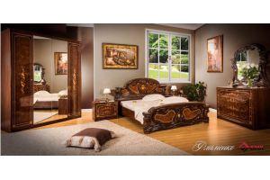 Спальня изящная Фламенко - Мебельная фабрика «Буденновская мебельная компания»