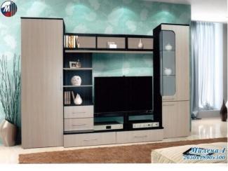 Гостиная Милена 4 - Мебельная фабрика «Грааль», г. Пенза