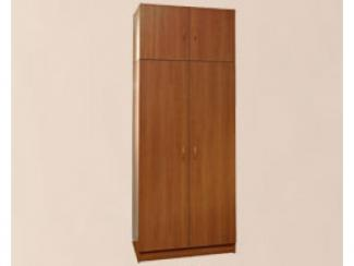 Шкаф двухстворчатый с атресолью