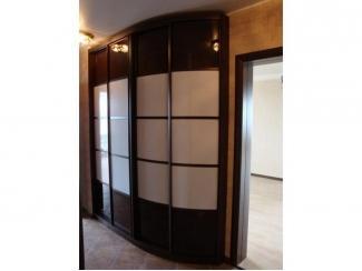 Радиальный шкаф купе - Мебельная фабрика «ТРИ-е»