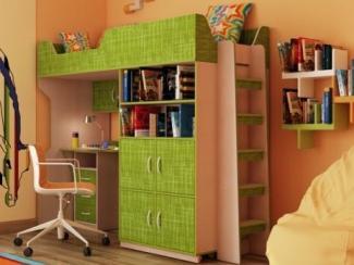 Двухъярусная кровать-чердак Стриж - Мебельная фабрика «Порта»
