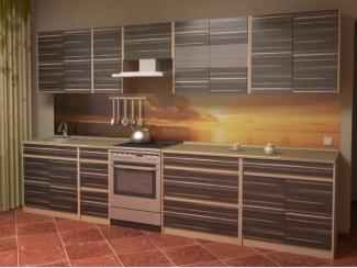 Кухня прямая Токио комплектация 9 - Мебельная фабрика «Алсо»