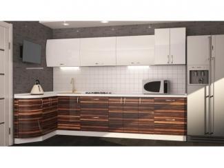 Угловая кухня Макассар - Мебельная фабрика «Корвет»