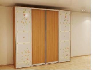 Шкаф-купе с витражным рисунком - Мебельная фабрика «Красивый Дом»