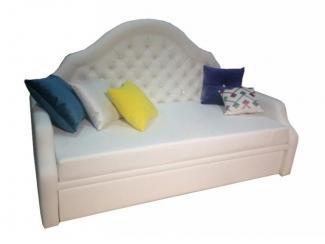 Диван-кровать Соната с каретной стяжкой  - Мебельная фабрика «Энигма»