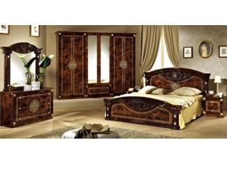 Спальня Рома (орех) - Импортёр мебели «Эспаньола (Китай)», г. Москва