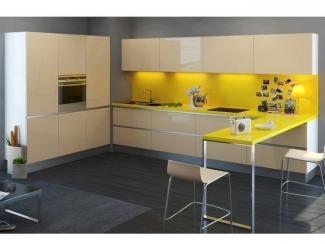 Кухня в стиле минимализм Акрил  - Мебельная фабрика «Вектра-мебель»
