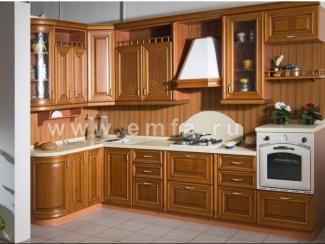 Кухонный гарнитур угловой СТРАДИВАРИ - Мебельная фабрика «Энгельсская (Эмфа)»