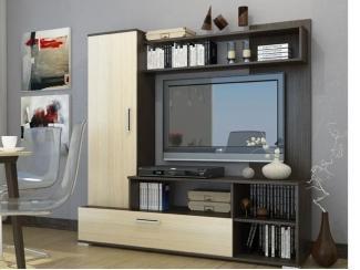 Гостиная стенка Кристи 12 - Мебельная фабрика «Волжская мебель»