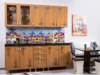 Кухня прямая Вета-16 ольха-патина - Мебельная фабрика «Бубен»