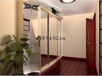 Стильный шкаф-купе с зеркалом  - Мебельная фабрика «Шкаф-Шкафыч», г. Москва