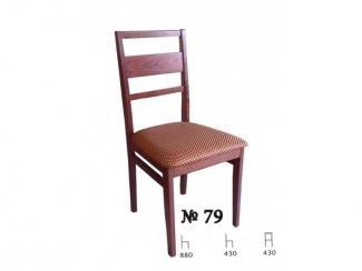 Стул 79 из массива бука - Мебельная фабрика «Нормис»