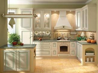 Кухня Искья зеленая - Мебельная фабрика «Avetti»