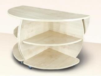 Круглый журнально-обеденный стол Визит  - Мебельная фабрика «Димир»