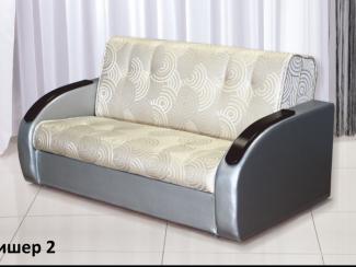 Диван прямой Фишер 2 - Мебельная фабрика «Аккорд», г. Владимир