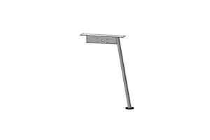 Центральная опора углового стола AOS-0013 - Оптовый поставщик комплектующих «Миниформ»